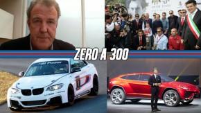 Jeremy Clarkson acusado de racismo, BMW M2 pode chegar em 2015, turbo para a Lamborghini…