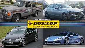 Uma Chevrolet D-20 de R$ 100.000, o Lamborghini Huracán da <i>polizia</i>, o novo Mercedes Classe C no Brasil e mais!