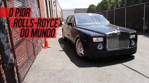 Como alguém deixa um Rolls-Royce Phantom chegar a este estado?
