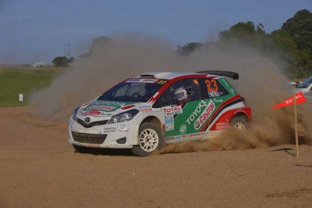 Sasol-Rally-preview-Leeroy-Poulter-and-Elvéne-Coetzee-Castrol-Toyota-Yaris-S2000-2013