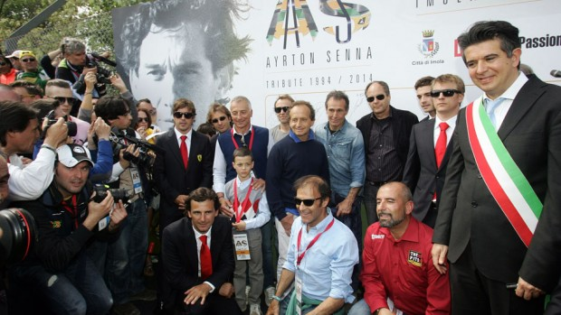 Ayrton Senna Tribute 1994-2014 Imola (ITA) 01-04 May 2014