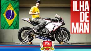 TT da Ilha de Man: Rafael Paschoalin já está acelerando na pista!
