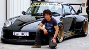 Rauh-Welt Begriff: o mundo bruto dos Porsche 911 de Akira Nakai