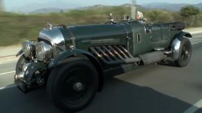 Bentley 27-Litre: Jay Leno e seu monstro com motor V12 de avião