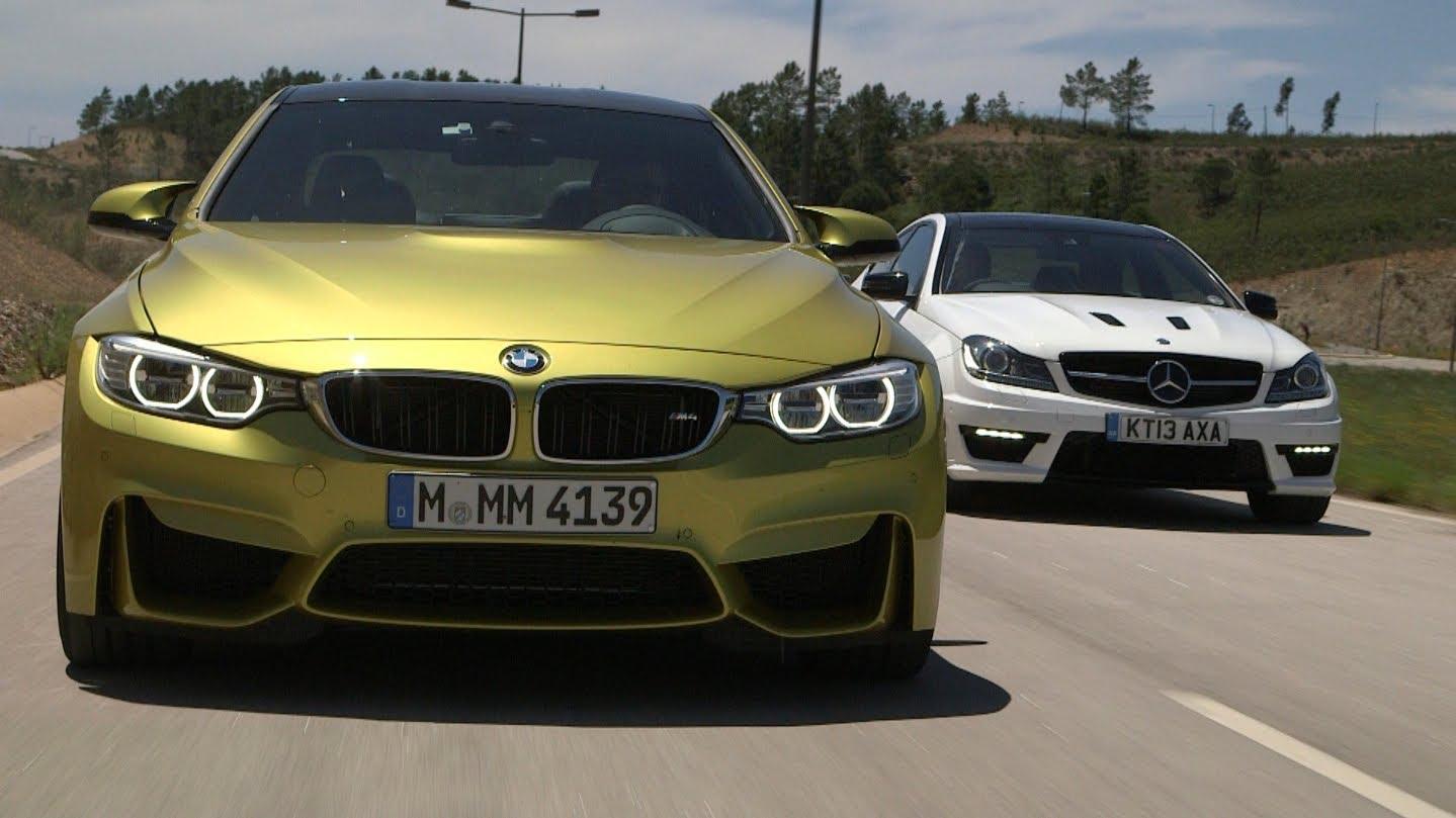 BMW M4 Encara O Mercedes Benz C63 AMG. Quem Você Acha Que Leva Essa
