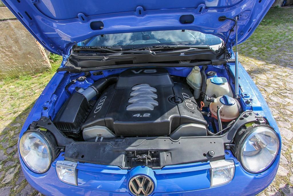 Loucura De Verdade 233 Um Compacto Vw Lupo Com V8 De Audi A8