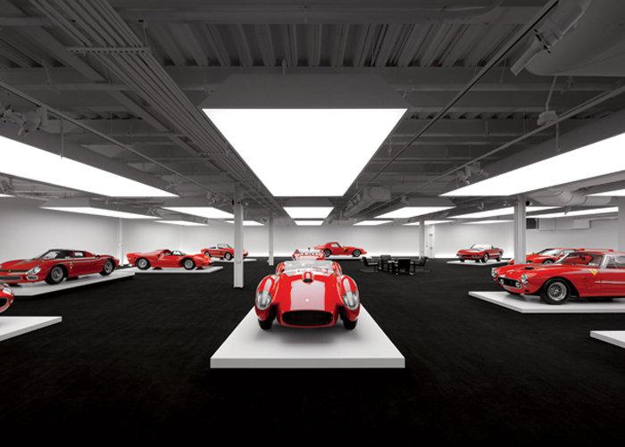 A cole o de ralph lauren a verdadeira garagem dos for Garajes organizados