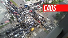 Para os brasileiros, o trânsito é caótico, violento e inseguro – diz pesquisa
