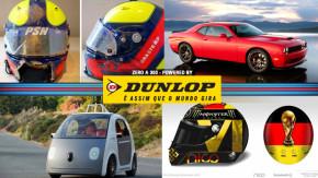 Luciano Burti recebe o capacete de seu acidente em Spa, o preço do Dodge Hellcat, Fifa muda capacete de Nico Rosberg e mais!