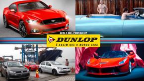 A potência do novo Mustang 2015, a piscina mais rápida do mundo, México vai produzir mais carros que o Brasil e mais!