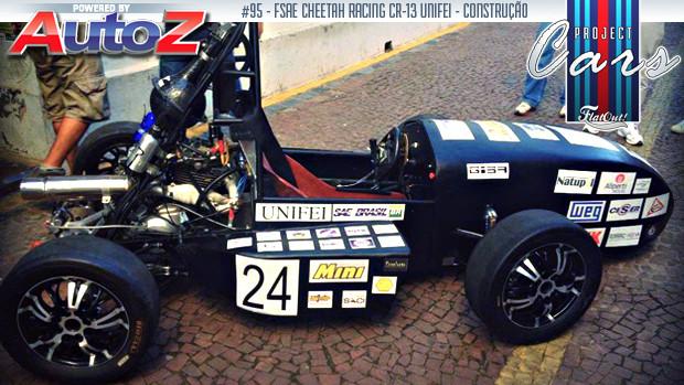 Project Cars # 95: a evolução dos carros da equipe Cheetah Racing UNIFEI