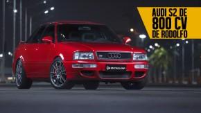 O espírito do Grupo B nas ruas brasileiras: o Audi S2 Sedan de 800 cv de Rodolfo Moreira