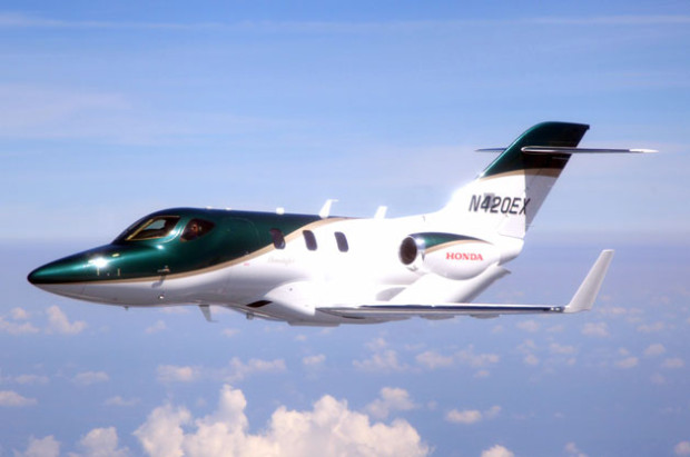 First Production HondaJet Takes to the Skies