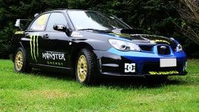 O Subaru Impreza WRX STI de rali do Ken Block está à venda!