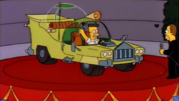 The Homer: um carro totalmente projetado por Homer Simpson para o homem comum