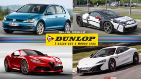 Volkswagen substitui Golf alemão por mexicano, a Ferrari 458 turbo flagrada, um novo esportivo Alfa Romeo e mais!