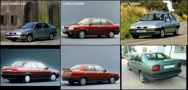 3 sedans base igual