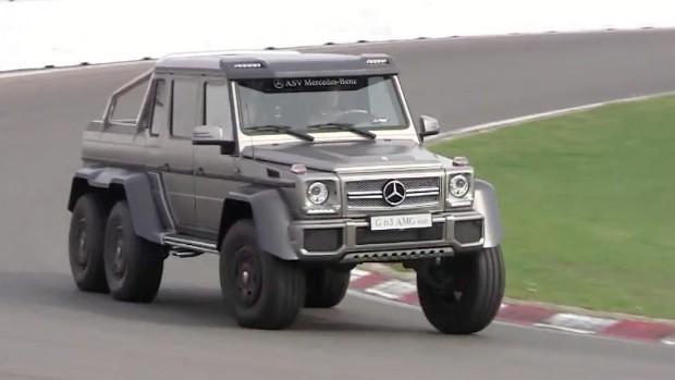 Este Vídeo é A Prova De Que O Mercedes Benz G63 AMG 6×6