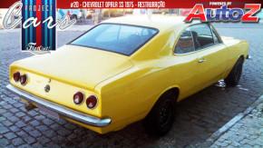 Opala SS 1975: o início da restauração, remoção da pintura e oportunidades do Project Cars #20