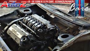 Project Cars #36: como instalar um V6 Alfa Romeo no cofre do Tempra brasileiro