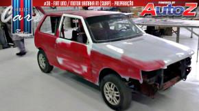 Fiat Uno com motor de Yamaha R1: preparando a estrutura do Project Cars #38