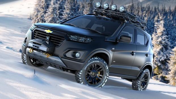 Niva Concept: um Chevrolet russo com cara de Ford e motor Peugeot… e não é que ficou bacana?