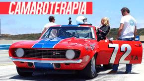 Pilotar um Camaro 1969 de corrida é a melhor forma de se recuperar de um grave acidente