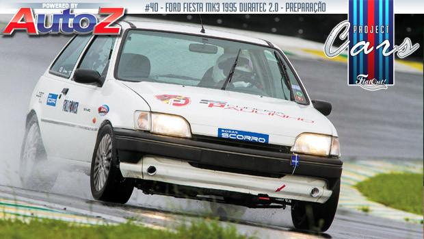 Ford Fiesta 2.0 Duratec: a história do PC#40, de Luciano Falconi