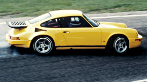 """A 340 km/h em 1987: a história do lendário Ruf CTR """"Yellowbird"""""""