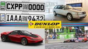 Novas placas para os carros do Mercosul, Audi S4 Avant de Ayrton Senna em exposição, Pininfarina Sergio pode ser produzida e mais!