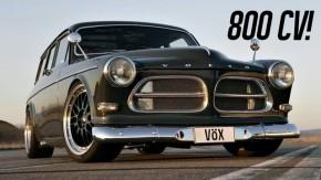 Volvo Amazon Vöx: seis cilindros, turbo e 800 cv — e anda mais que uma Ferrari 599
