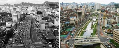 Cheonggyecheon-Stream-Before-After1