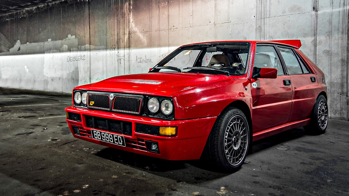 os melhores hot hatches do universo lancia delta hf integrale flatout. Black Bedroom Furniture Sets. Home Design Ideas