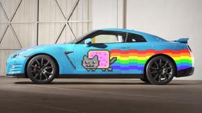 <i>The zuera never ends </i>: Nissan oferece um GT-R &#8220;Nyan Cat&#8221; ao DJ deadmau5