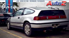 Project Cars #109: a história do raríssimo Honda CRX de Leandro Garcia