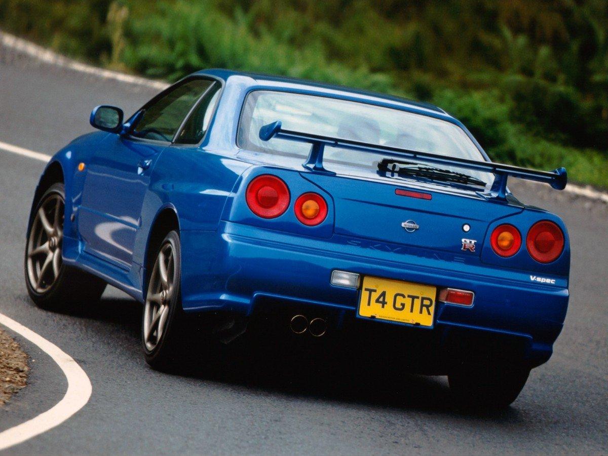 O Novo GT R Trouxe, Também, Novos Recursos U2014 Incluindo Uma Tela No Console  Central (algo Bastante Avançado Na época) Que Exibia Informações Do Motor  Em ...