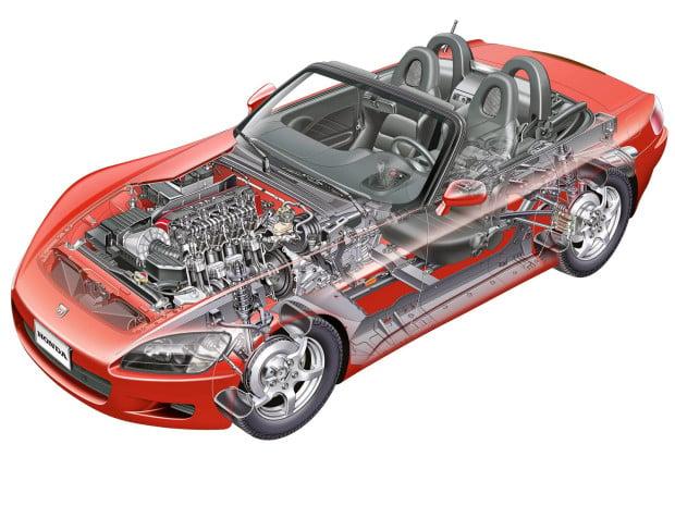 2000 S2000 Roadster Cutaway