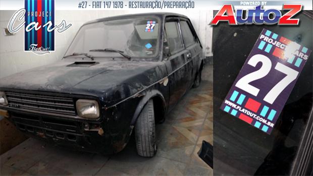 Project Cars #27: criando um Fiat 147 Abarth Racing por conta própria
