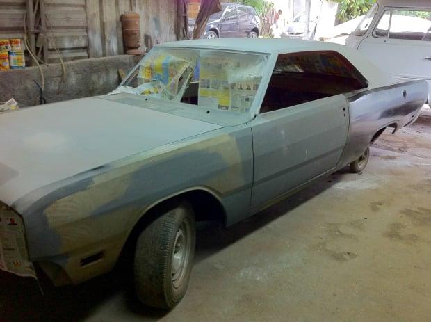 Project Car FlatOut RT 72 LMS funilaria, pintura e mecânica.pa