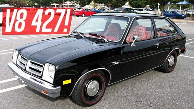 similiar chevrolet chevette v8 keywords um chevette com motor v8 427 é o sleeper mais incrível do mundo