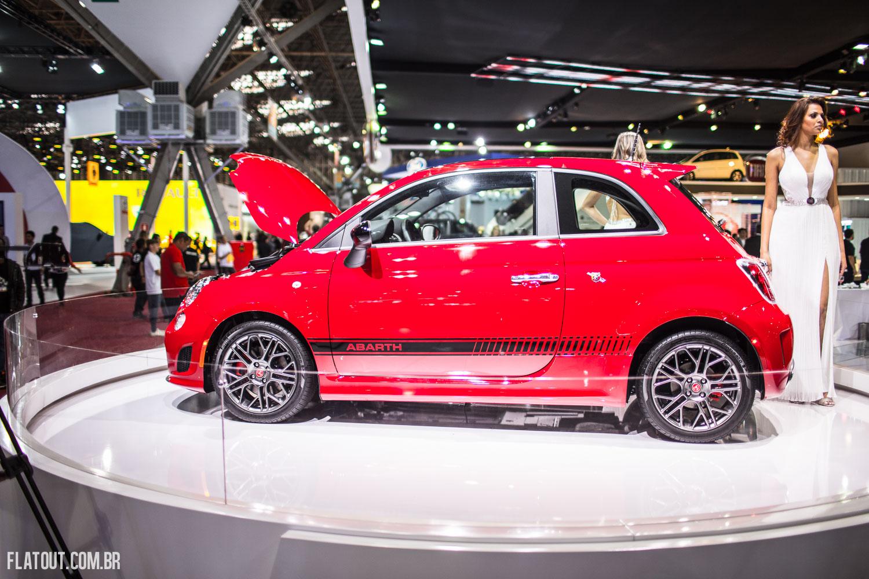 Fiat 500 Abarth Finalmente O Pequeno Escorpi 227 O Italiano Desembarca No Sal 227 O De S 227 O Paulo Flatout