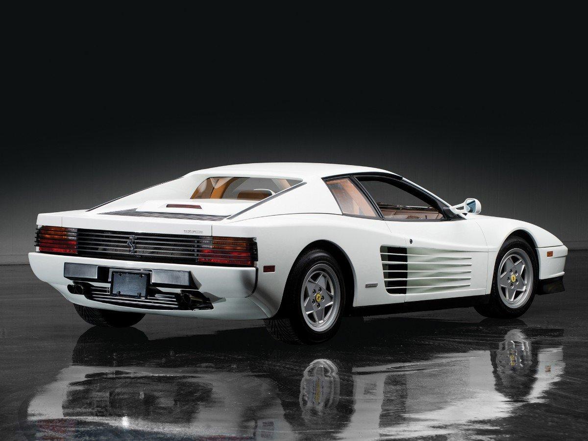 Testarossa 30 Anos Da Ferrari S 237 Mbolo Dos Anos 1980