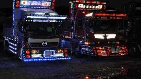 <i>Dekotora</i> : a história dos caminhões decorados e reluzentes do Japão