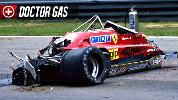 O trágico acidente de Gilles Villeneuve: uma análise médica