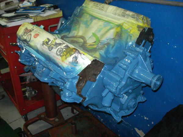 04 - tinta de fundo motor