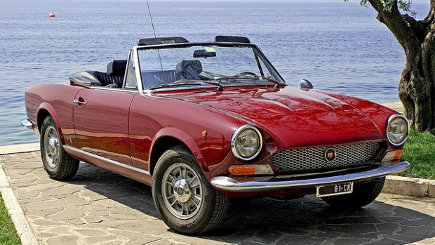 Pequenos Grandes Roadsters: Fiat 124 Sport Spider