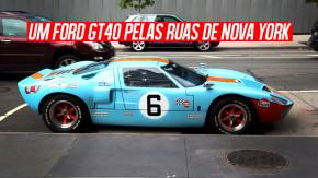 De Le Mans para as ruas: como é dirigir um Ford GT40 por Nova York?