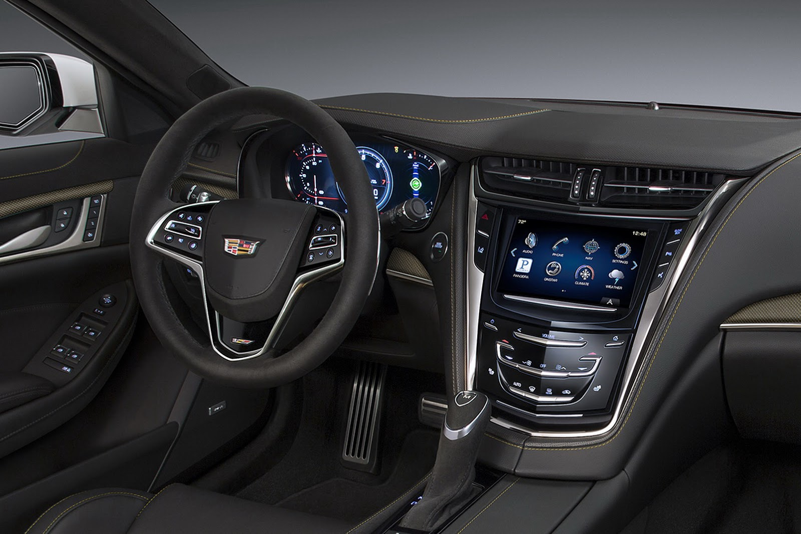 2016 cadillac cts v sedan 17 flatout. Black Bedroom Furniture Sets. Home Design Ideas