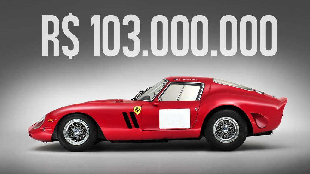 4ad7be3e747 Estes foram os carros mais caros leiloados em 2014 - FlatOut!