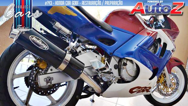 Project Cars #143: os primeiros reparos e novos faróis para a minha Honda CBR600F 1998